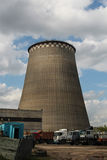 thermal electro station royalty free stock images