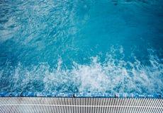 Thermal hot pool water Royalty Free Stock Image