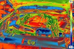 Thermal Image Stock Photo