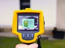 Thermal Imaging Detection Stock Image