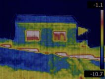 Thermal Imaging Royalty Free Stock Images