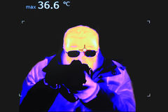 Thermal imaging Stock Images