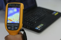 Thermal imaging inspection Stock Photography