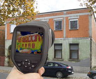 Thermal Imaging Investigation royalty free stock images