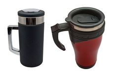Thermal Insulated Travel Mug Stock Images