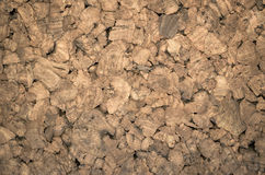 Thermal insulating compressed cork panels Royalty Free Stock Photo