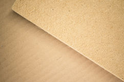 Thermal insulating compressed hemp fiber panel Royalty Free Stock Images