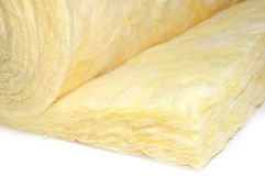 Thermal insulation. Close-up of specific material thermal insulation stock photography