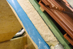 Thermal insulation Stock Images