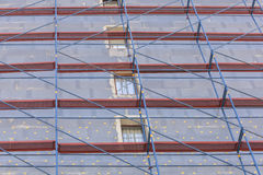 thermal insulation. Building is getting ready for winter Royalty Free Stock Photography