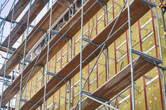 Thermal insulation of building walls Stock Photography