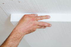 Thermal insulation of home Stock Photo