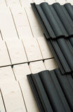 Thermal insulation of a roof royalty free stock photo
