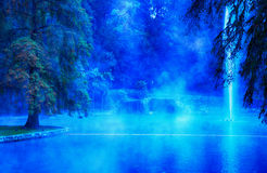 Thermal Lake Stock Photography