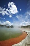 Thermal Lake In Rotoroa, New Zealand Royalty Free Stock Photo