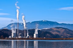 Thermal plant Stock Photos