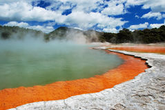 Thermal pool Stock Image