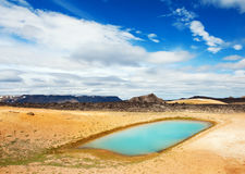 Thermal pool Stock Photography