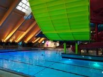 Thermal pool - Galaxy area at Therme Bucharest. Balotesti, Romania royalty free stock photo