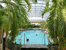 Thermal pool indoor Royalty Free Stock Photography