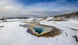 thermal pool, Yellowstone Royalty Free Stock Image