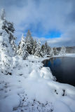 Thermal pool, Yellowstone royalty free stock photography
