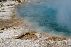 Thermal pool, Yellowstone National Park. Thermal pool at Yellowstone National Park, Wyoming Royalty Free Stock Photo