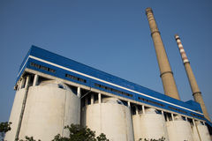 THERMAL POWER Royalty Free Stock Photos