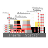 Thermal power Stock Photos