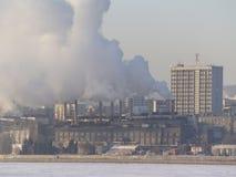 Thermal power plant. In Saratov Stock Image