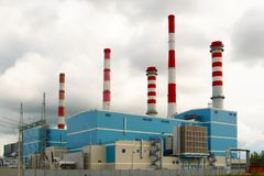 Combined Cycle Gas Turbine, CCGT stock image