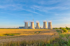 Thermal power plant Royalty Free Stock Images