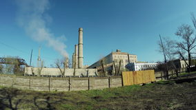 Thermal power plant stock video