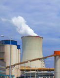 Thermal power plant, Czech Republic Royalty Free Stock Images