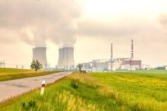 Thermal power plant, Czech Republic Stock Image