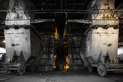 Thermal power plant interior Stock Images
