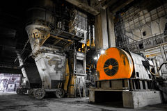 Thermal power plant interior Stock Photos