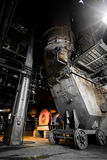 Thermal power plant interior Royalty Free Stock Photography