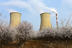 Thermal power plant Stock Photos