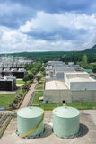 Thermal power plant. Stock Images