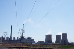 Thermal Power Plant Royalty Free Stock Image