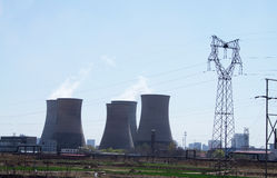 Thermal Power Plant Stock Photo