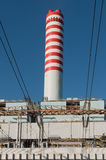 Thermal power station Royalty Free Stock Photo