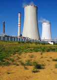 Thermal power station Stock Photo