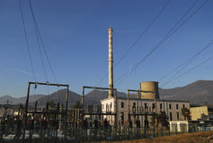 Thermal power station Stock Images