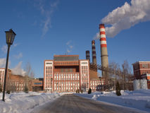 Thermal power stations Royalty Free Stock Photos
