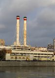 Thermal power stations i Royalty Free Stock Images