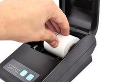 Thermal printer Royalty Free Stock Photo