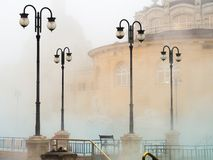 Thermal spa. Szechenyi in Budapest, Hungary Royalty Free Stock Photography