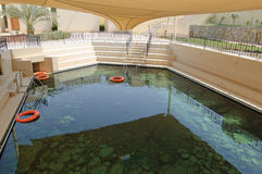 Thermal spring and spa pool Royalty Free Stock Photography